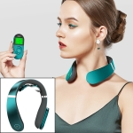 REMAX LIFE PANGAO Smart Shoulder and Neck Massager Pulse Neck Physiotherapy Instrument (Green)