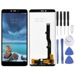 LCD Screen and Digitizer Full Assembly for ZTE Blade A7 Vita / A0722 (Black)