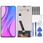 LCD Screen and Digitizer Full Assembly for Xiaomi Redmi 9 (Black)