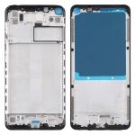 Front Housing LCD Frame Bezel Plate for Xiaomi Redmi Note 9 / Redmi 10X 4G (Black)