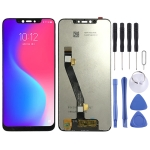 LCD Screen and Digitizer Full Assembly for Lenovo S5 Pro GT L58041 L58091 (Black)