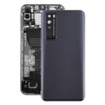 Original Battery Back Cover With Camera Lens Cover for Huawei Nova 7 5G(Black)