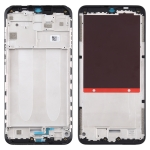 Front Housing LCD Frame Bezel Plate for Xiaomi Redmi 9A (Black)