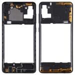 Middle Frame Bezel Plate for Samsung Galaxy A21s (Black)