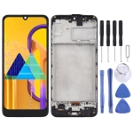 TFT Material LCD Screen and Digitizer Full Assembly With Frame for Samsung Galaxy M30s (Black)