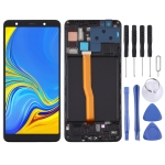 TFT Material LCD Screen and Digitizer Full Assembly With Frame for Samsung Galaxy A7 (2018) / SM-A750F (Black)