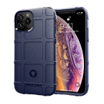 For iPhone 12 Pro 6.1 inch Full Coverage Shockproof TPU Case(Blue)