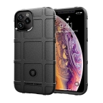 For iPhone 12 Pro Max 6.7 inch Full Coverage Shockproof TPU Case(Black)