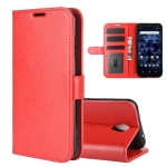 For Kyocera DICNO BX R64 Texture Single Horizontal Flip Protective Case with Holder & Card Slots & Wallet& Photo Frame(Red)
