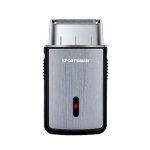 SPORTSMAN Multi-function Mini Shaver USB Rechargeable Razor (Silver)