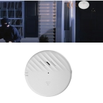125dB Vibration Sensor Alarm Door and Window Alarm Home Personal Anti-theft Alarm(White)