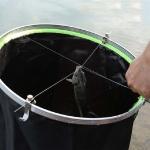 Double-headed Stopper Titanium Wire Suspension Decoupling Device