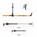 Vertical String Carbon Bracket Fishing Rod Bracket, Specification:1.7m