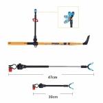 Vertical String Carbon Bracket Fishing Rod Bracket, Specification:2.4m