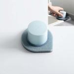 5 PCS Sharp Corner Sponge Brush to Clean Corner Gaps Pot Brush(Blue)