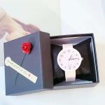 30 PCS Creative Rose Flower Jewelry Box Bracelet Watch Box(Black)