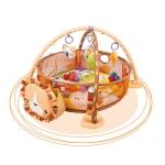 Baby Cartoon Play Mat Ocean Ball Pool(Lion Pad)