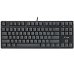 Rapoo V860 Desktop Wired Gaming Mechanical Keyboard, Specifications:87 Keys(Tea Shaft)