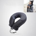 Cervical Massager Portable Massage Pillow, Colour:Dark Gray