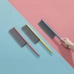 3 PCS Household Long Handle Cleaning Brush Soft Bristle Bedroom Sofa Dust Brush Random Color