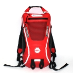 25L MARJAQE Outdoor Travel Waterproof Backpack Drifting Bag Swimming Life-saving Bag(Red)