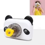 3 PCS Little Bear Electric Bubble Camera Children Toy Bubble Machine(White)