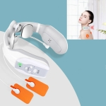 Multifunctional Cervical Spine Massage Instrument Office Home Portable Cervical Spine Physiotherapy, Specification: Remote Control, Style:Withou tPulse