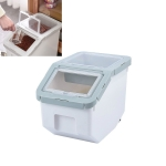 Dog And Cat Food Storage Barrel Sealed Moisture-proof Pet Snack Storage Box Pet Supplies, Specification: Small(Green)
