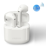 Edifier LolliPods TWS IPX4 Waterproof Bluetooth 5.0 Noise Reduction Wireless Bluetooth Earphone with Charging Box, Support Call & Voice Assistant(White)