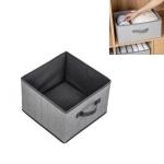 2 PCS Non-woven Drawer Storage Box Square Uncovered Clothing Debris Sorting Box, Capacity:16L