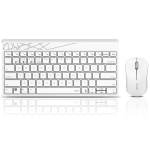 Rapoo X221T Multi-modes Wireless Bluetooth Keyboard and Mouse Set(White)