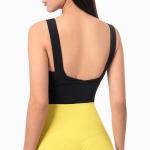Chivalrous Woman Soft Armor Shockproof Sports Vest (Color:Black Size:M)