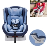 Car Forward and Reverse Installation Children Safety Sit and Lie Down Seat Seat Belt Fixing (Blue)