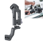PGYTECH P-RH-088 Pot Holder Adapter Bracket Extension Mount Plus for DJI Ronin-S / Ronin-SC(Black)