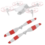 STARTRC 1 Pair Red and White Color Low Noise Quick-release Propellers for DJI Mavic Air 2
