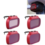 4 PCS PGYTECH P-12A-019 ND8 / 16 / 32 / 64 Dimming Lens Filter Set for DJI Mavic Mini Drone Accessories