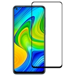 For Xiaomi Redmi Note 9 Full Glue Full Screen Tempered Glass Film