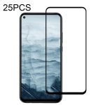 For Huawei Mate 30 Lite 25 PCS Full Glue Full Screen Tempered Glass Film