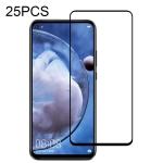 For Huawei Nova 5z 25 PCS Full Glue Full Screen Tempered Glass Film