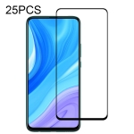 For Huawei Enjoy 10 Plus 25 PCS Full Glue Full Screen Tempered Glass Film