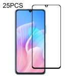 For Huawei Enjoy Z 2020 25 PCS Full Glue Full Screen Tempered Glass Film