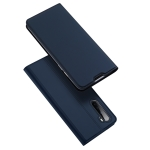 For OnePlus Nord DUX DUCIS Skin Pro Series Horizontal Flip PU + TPU Leather Case, with Holder & Card Slots(Blue)