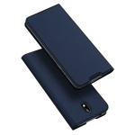For Nokia 1.3 DUX DUCIS Skin Pro Series Horizontal Flip PU + TPU Leather Case, with Holder & Card Slots(Blue)