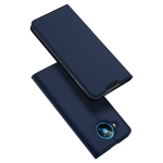 For Nokia 8.3 5G DUX DUCIS Skin Pro Series Horizontal Flip PU + TPU Leather Case, with Holder & Card Slots(Blue)