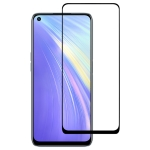 For OPPO Realme 6 Full Glue Full Screen Tempered Glass Film