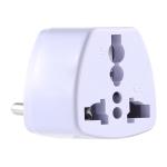 003T Portable Universal Socket Computer Server Power Adapter Travel Charger, EU Plug(White)