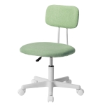 [JPN Warehouse] PP193834DAA Swivel Lift Chair Office Chair Desk Chair with Casters, Size: 45 x 42cm, Height Range: 70.5-79.5cm(Green)
