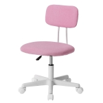 [JPN Warehouse] PP193834EAA Swivel Lift Chair Office Chair Desk Chair with Casters, Size: 45 x 42cm, Height Range: 70.5-79.5cm(Pink)