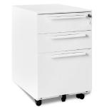 [EU Warehouse] MX037472WAA Mobile Multifunctional File Organizing Drawer Cabinet with Lock
