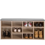 [EU Warehouse] WF193161EAA Home Hallway Bedroom Entrance Area Shoe Cabinet with 10 Compartments, Size: 103.5x30x 48cm